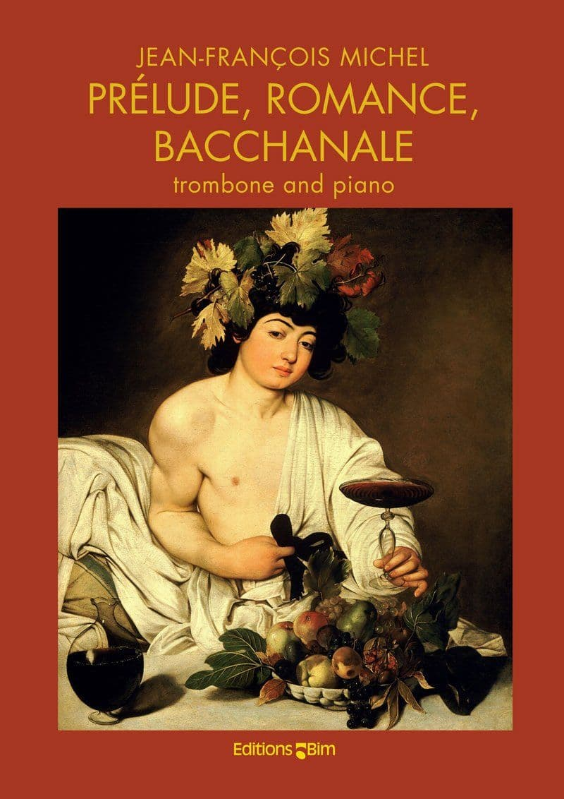 Michel Jean Francois Prelude Romance Bacchanale Tb86