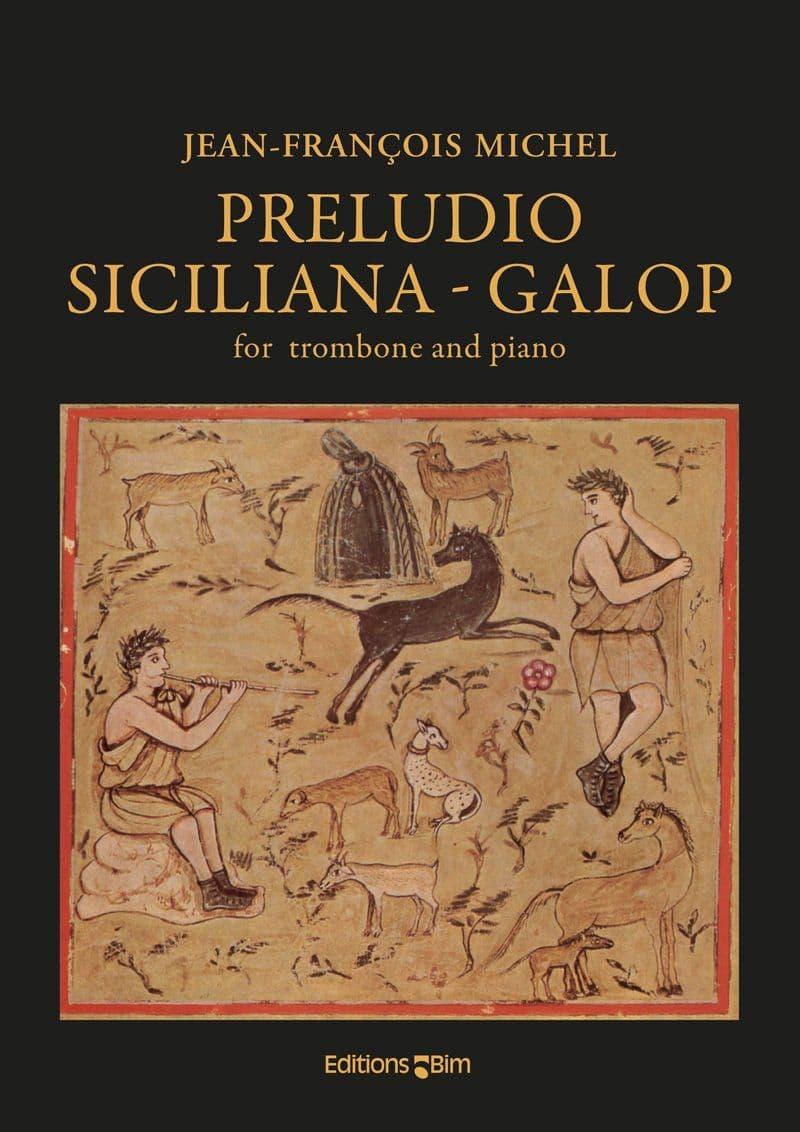 Michel Jean Francois Preludio Siciliana Galop Tb90