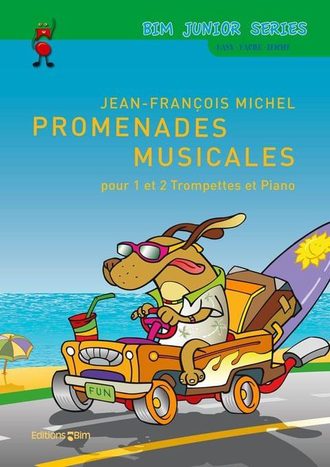 Michel Jean Francois Promenades Musicales Tp326
