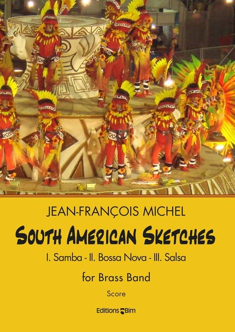 Michel Jean Francois South American Sketches Brb9