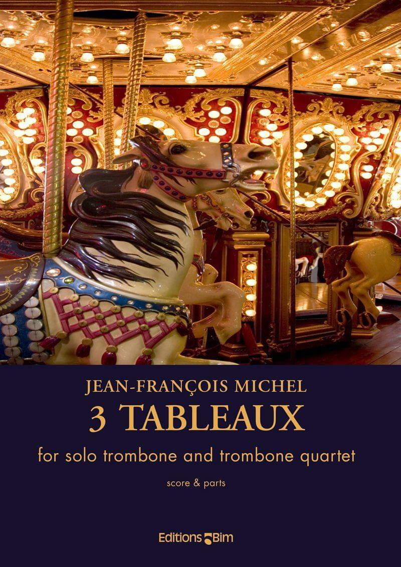 Michel Jean Francois Trois Tableaux Tb87