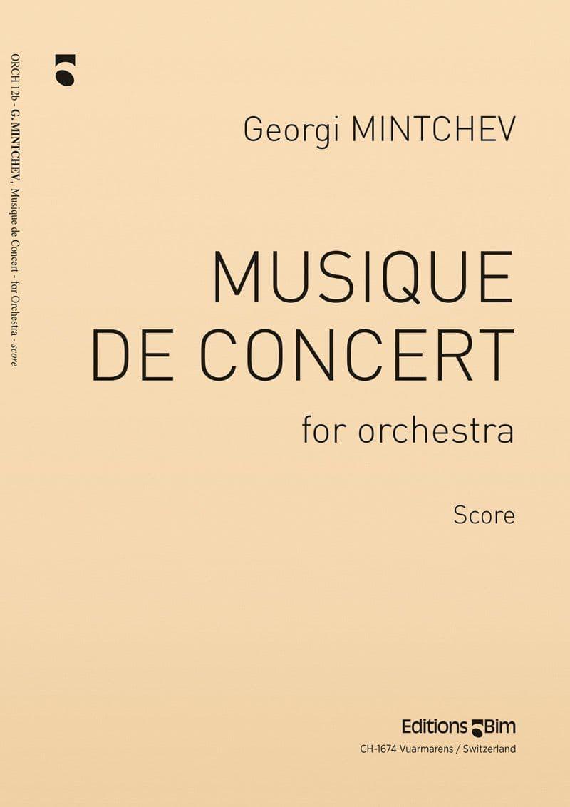 Mintchev Georgi Musique De Concert Orch12