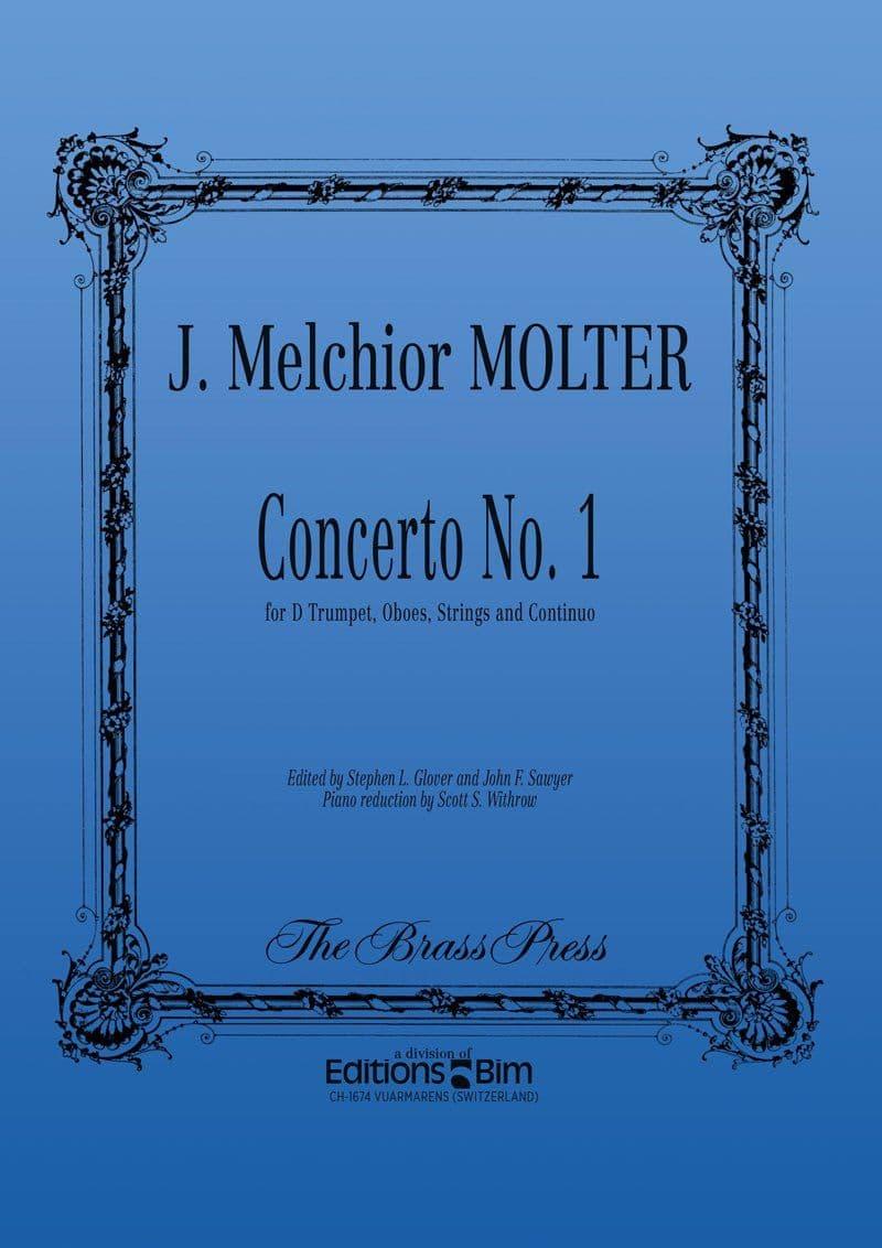 Molter Johann Melchior Concerto N° 1 Tp156