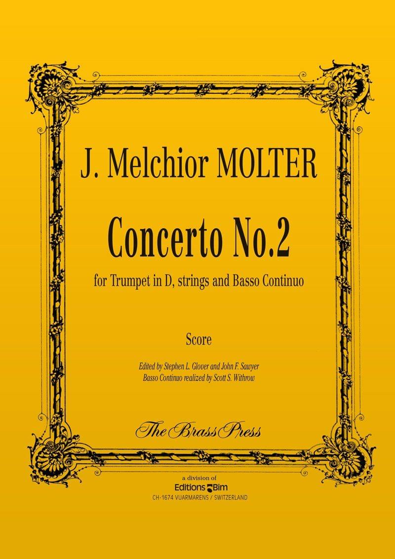 Molter Johann Melchior Concerto N° 2 Tp157