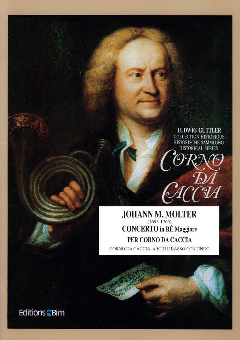 Molter Johann Melchior Concerto Re Maggiore Co10