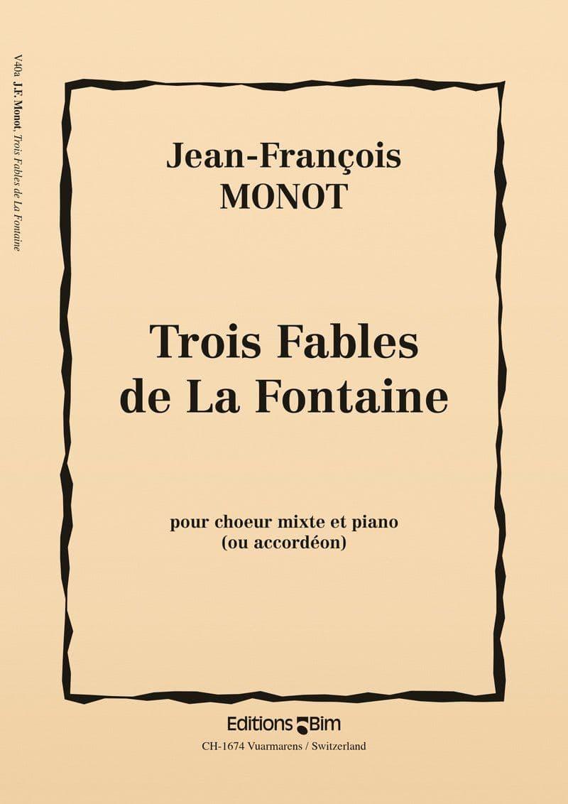 Monot Jean Francois 3 Fable De La Fontaine V40