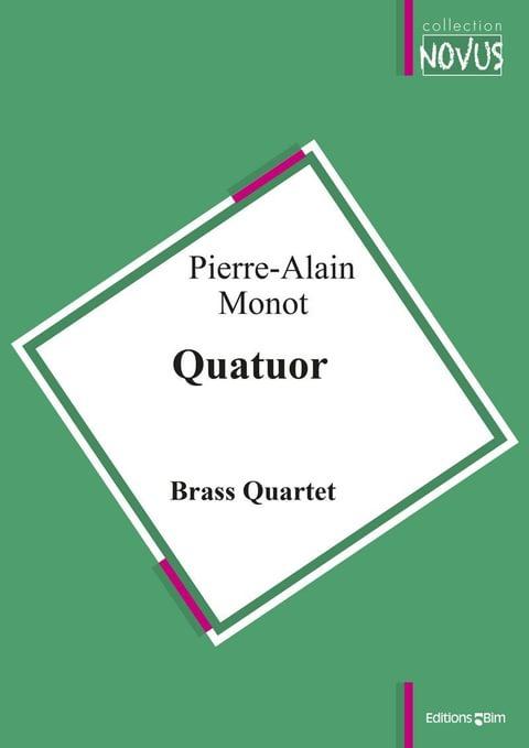 Monot Pierre Alain Quatuor Ens29