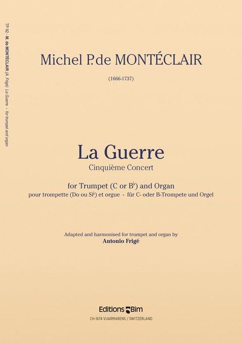 Monteclair Michel La Guerre Tp92