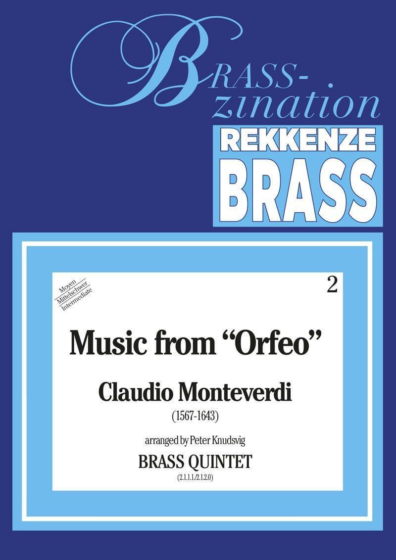 Monteverdi Claudio Music From Orfeo Ens3