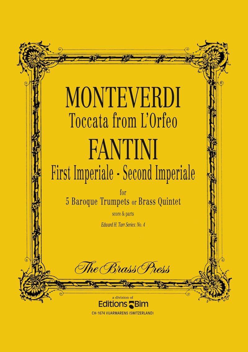 Monteverdi Fantini Toccata Orfeo Imperiale Ens85