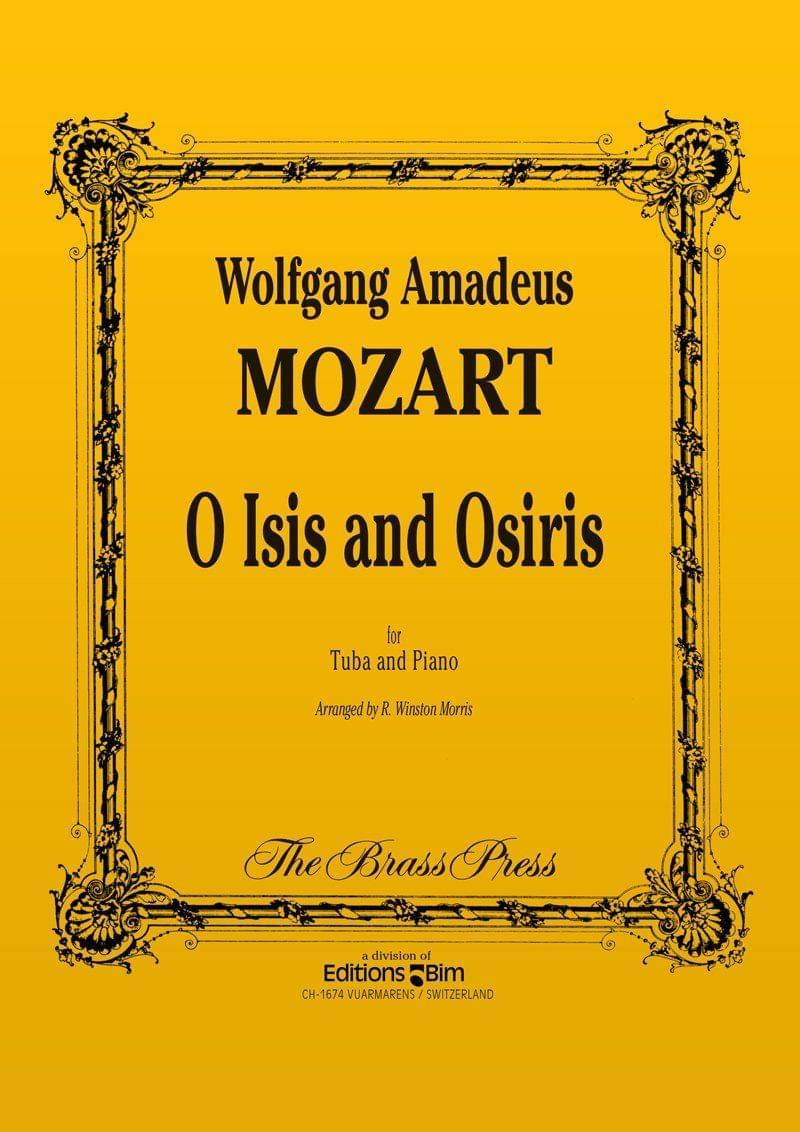 Mozart Wolfgang Amadeus O Isis O Osiris Tu59