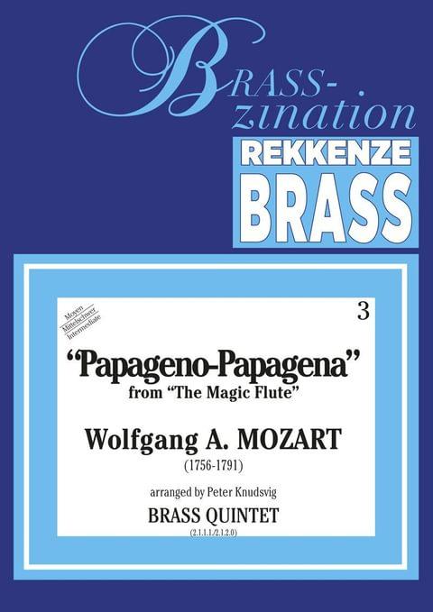 Mozart Wolfgang Amadeus Papageno Papagena Ens4