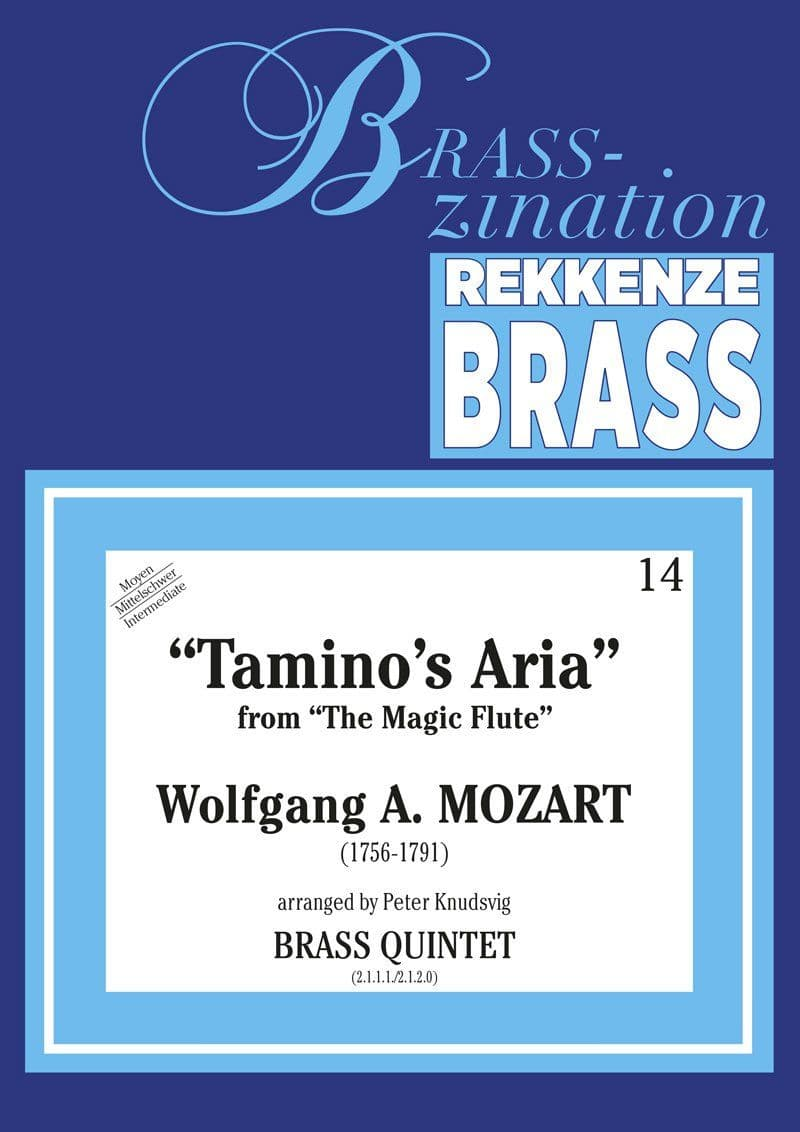 Mozart Wolfgang Amadeus Taminos Aria Ens24