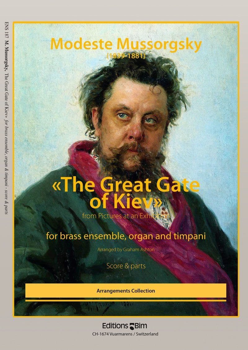 Mussorgsky Modeste The Great Gate Of Kiev Ens187