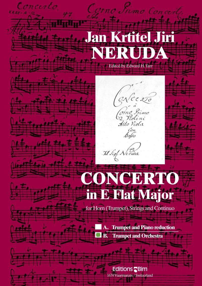Neruda Jan Krtitel Jiri Concerto For Trumpet Tp32