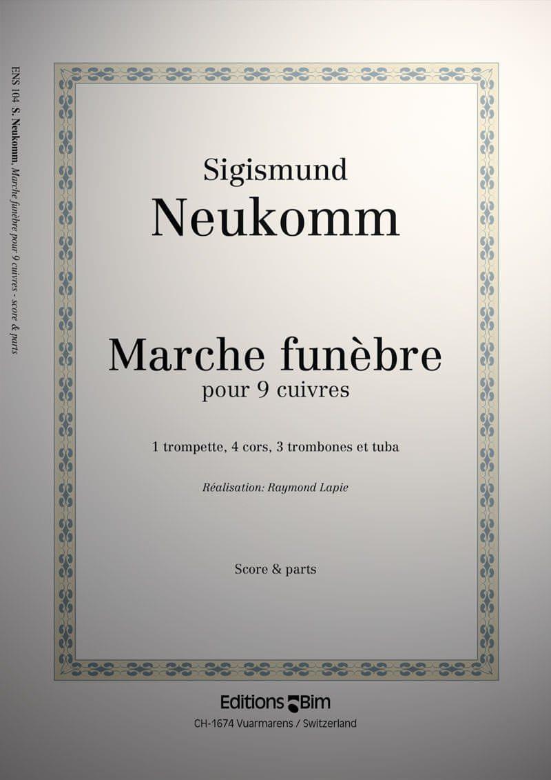 Neukomm Sigismund Marche Funebre Ens104