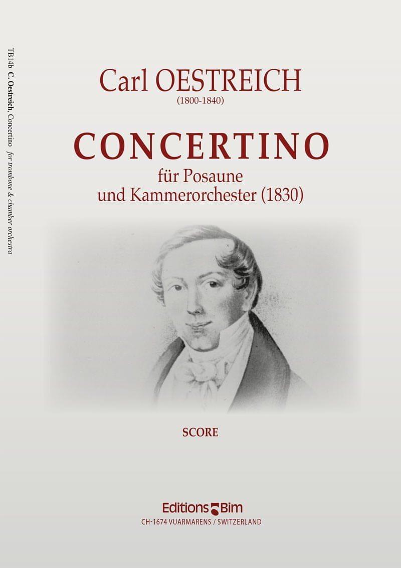 Oestreich Carl Trombone Concertino Tb14