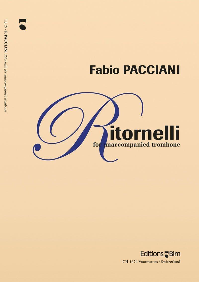 Pacciani Fabio Ritornelli Tb59