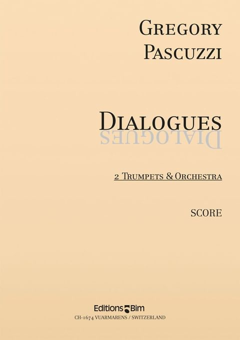 Pascuzzi Gregory Dialogues Tp224