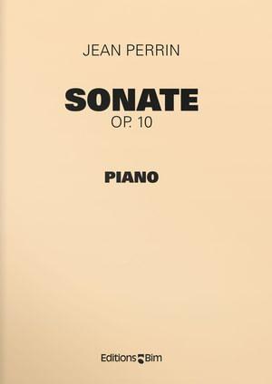 Perrin Jean Sonate Pno20
