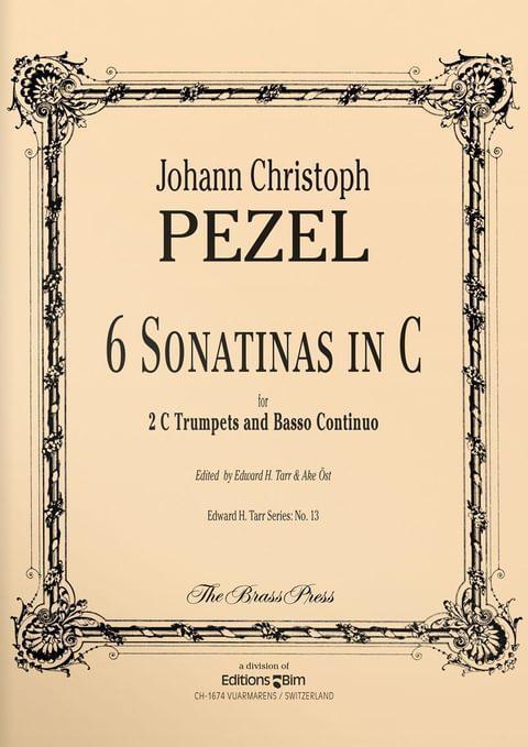 Pezel Johann 6 Sonatinas Tp158