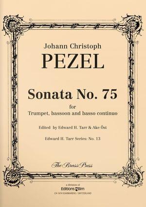 Pezel Johann Sonata 75 Tp159