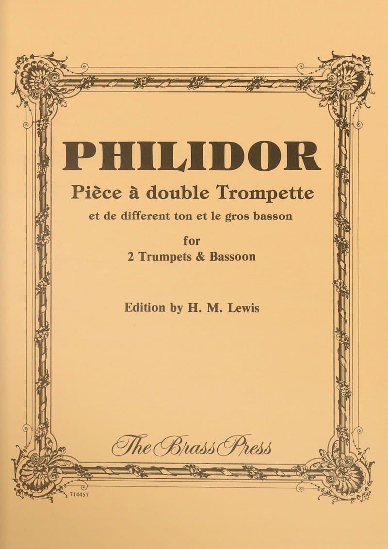 Philidor Andre Piece A Double Trompete Tp160