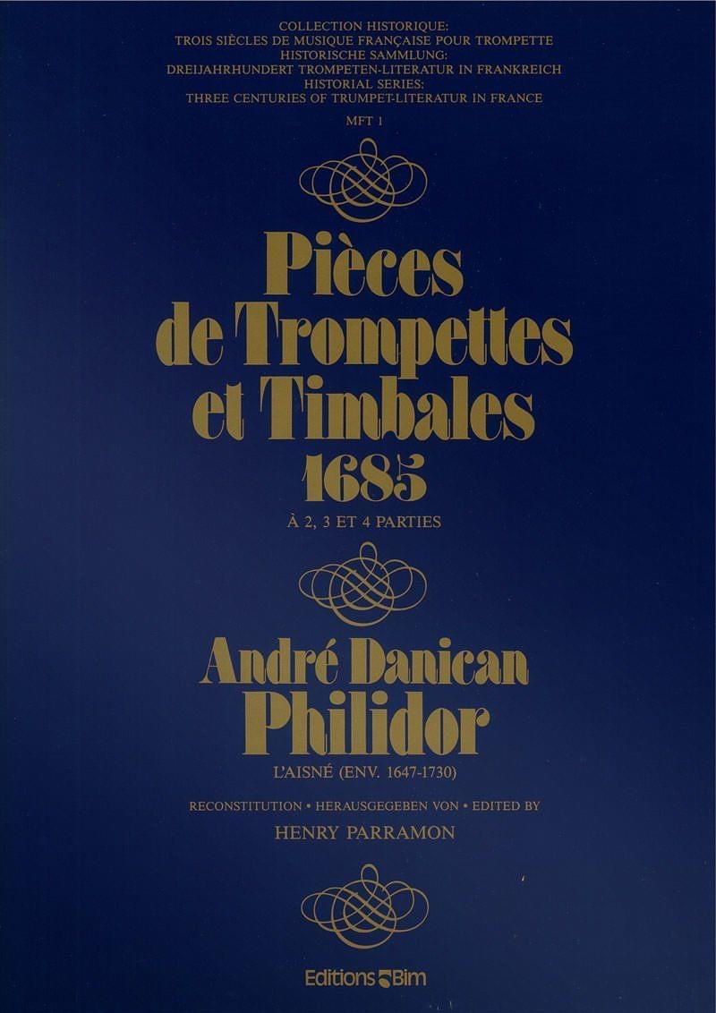 Philidor Andre Piece De Trompete Tp22