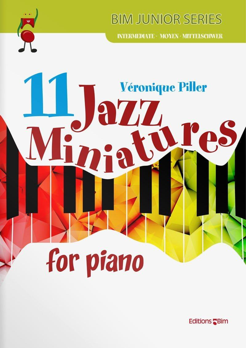 Piller Veronique 11 Jazz Miniatures Pno7