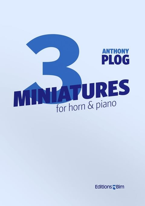 Plog Anthony 3 Miniatures For Horn Co52