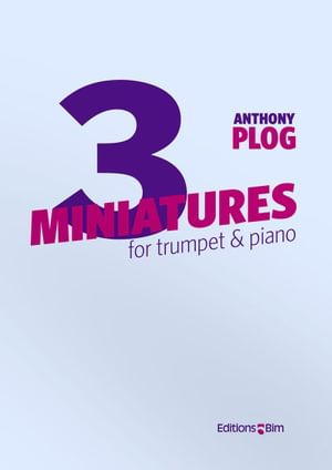 Plog Anthony 3 Miniatures For Trumpet Tp59