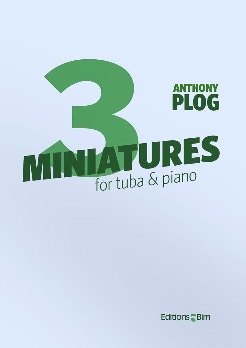 Plog Anthony 3 Miniatures For Tuba Tu23