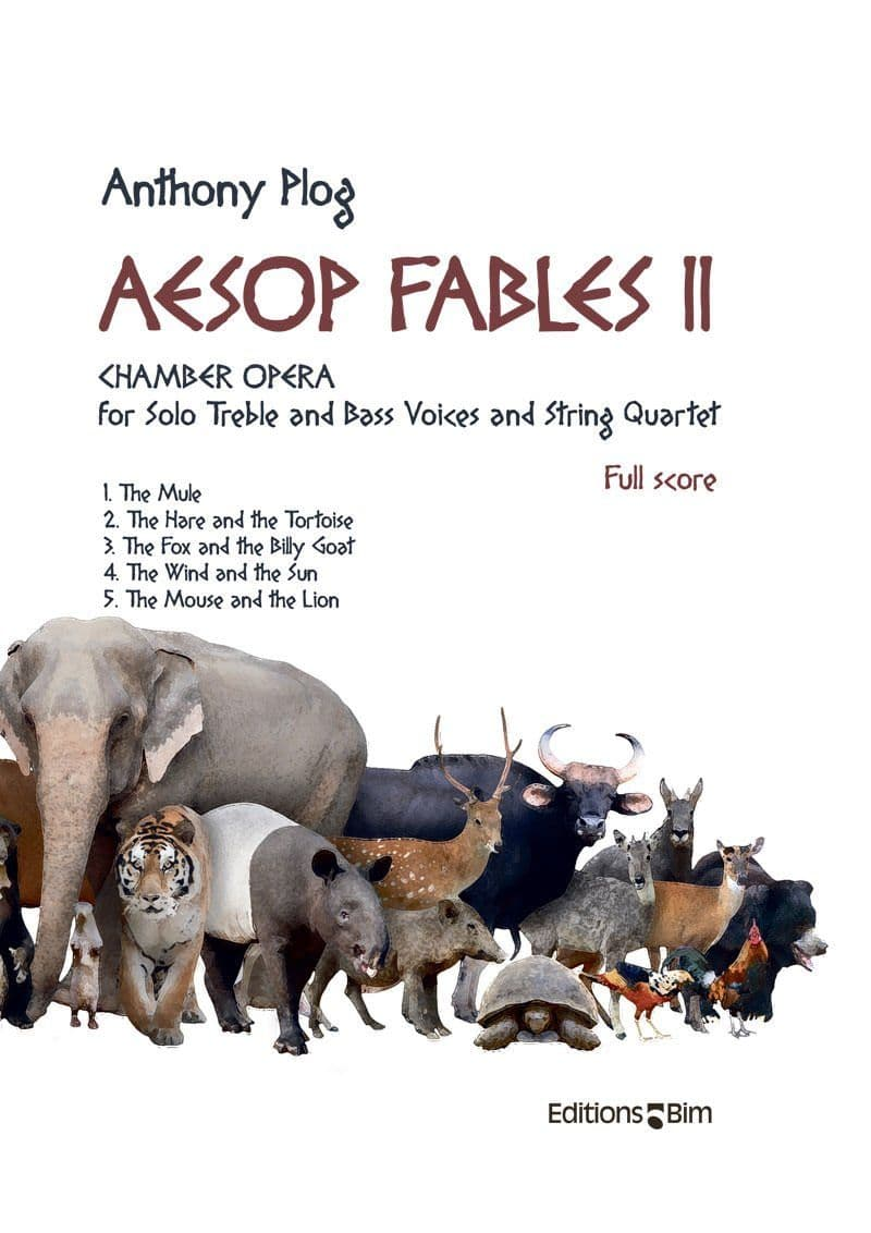Plog Anthony Aesop Fables Ii Oper4