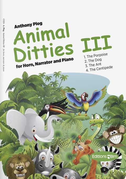 Plog Anthony Animal Ditties Iii Co24