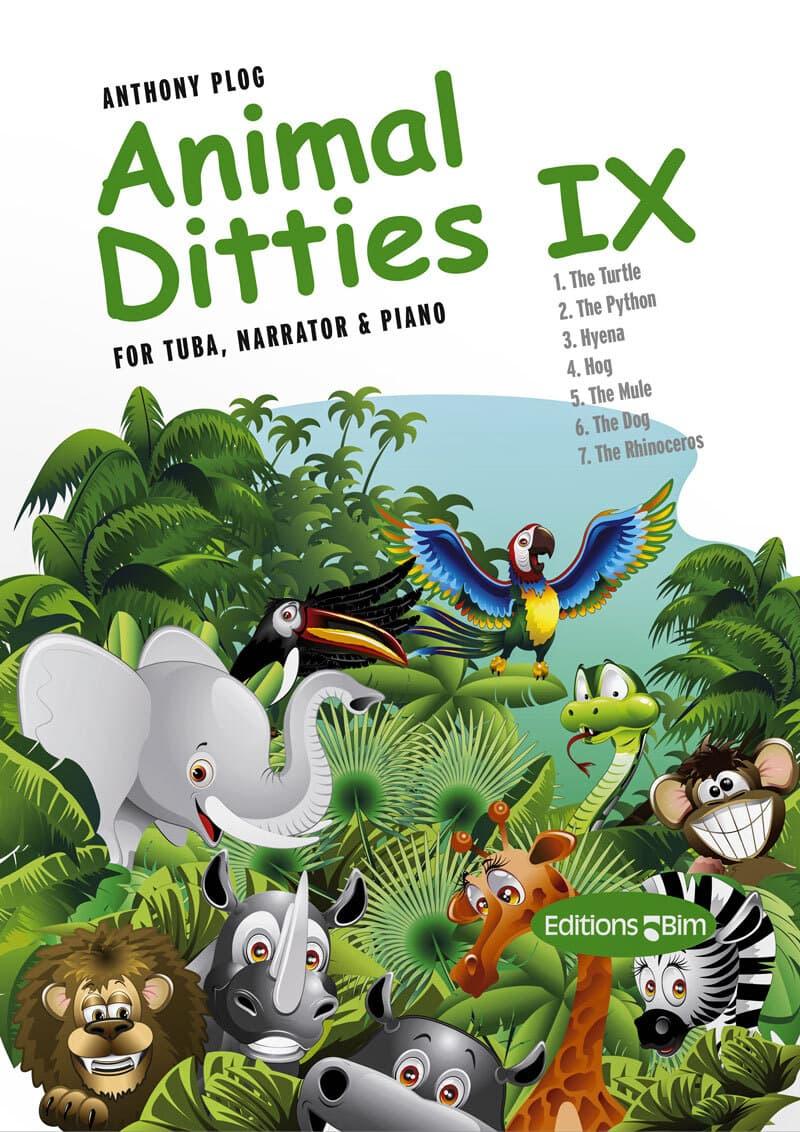 Plog Anthony Animal Ditties Ix Tu215