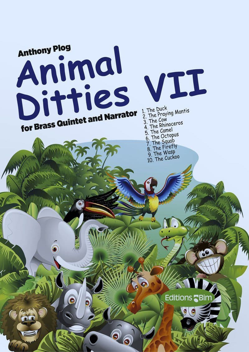 Plog Anthony Animal Ditties Vii Ens63