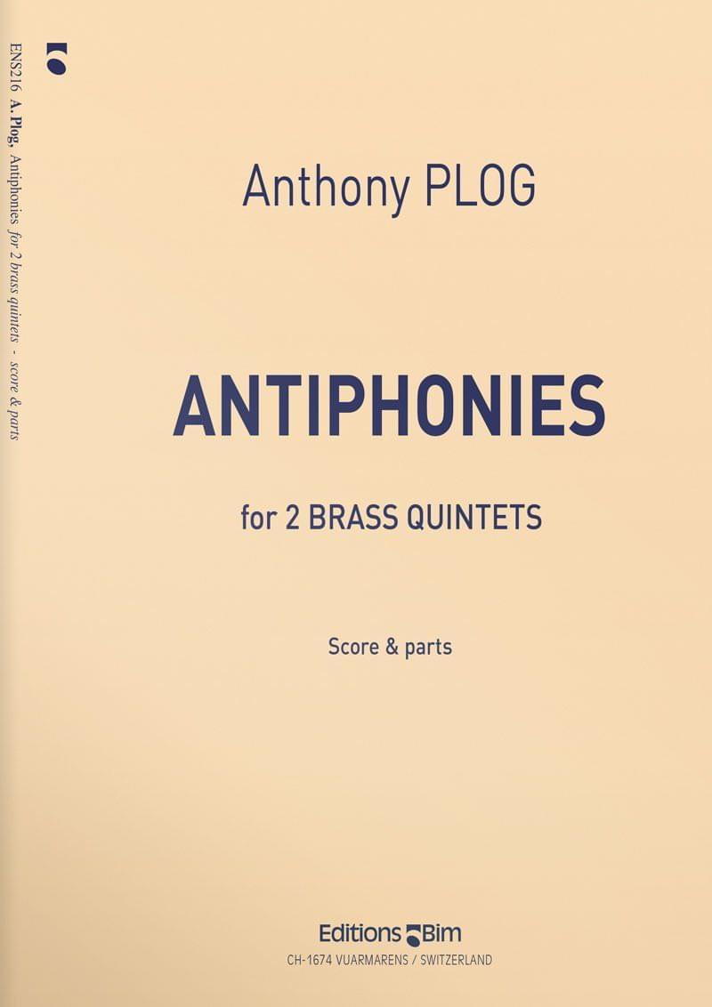 Plog Anthony Antiphonies Ens216