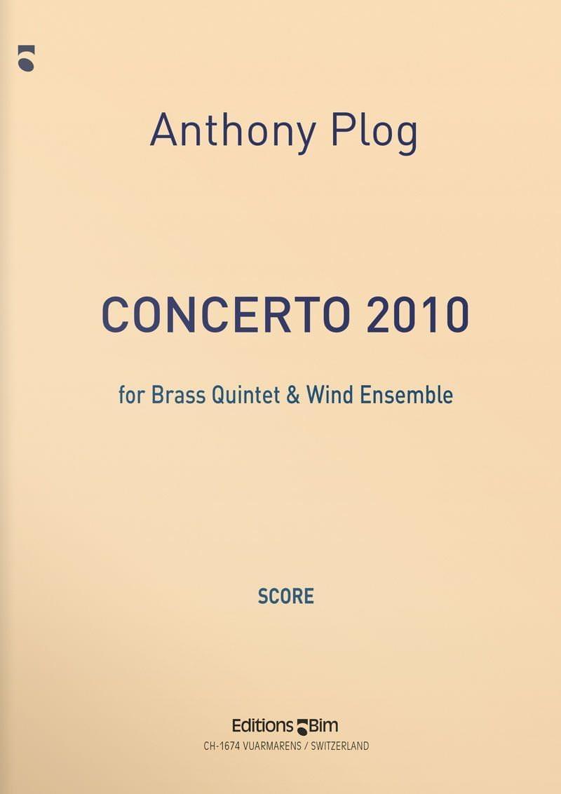 Plog Anthony Concerto 2010 Ens200
