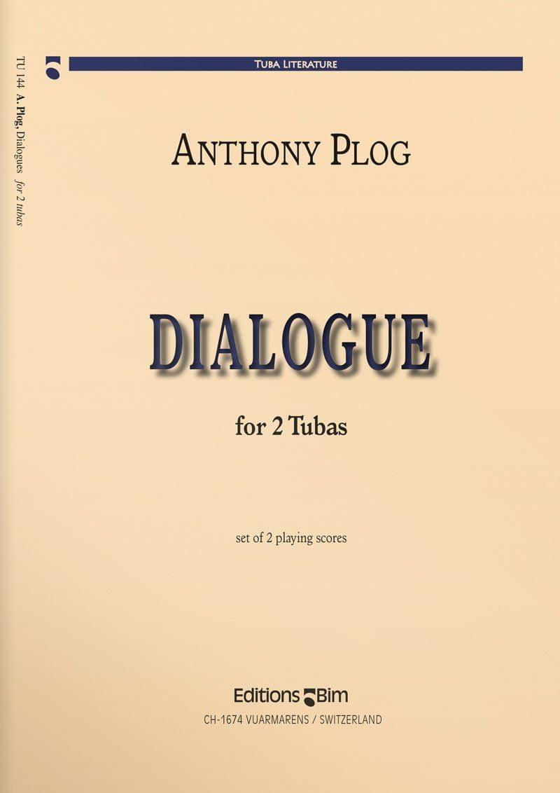 Plog Anthony Dialogue 2 Tubas Tu144