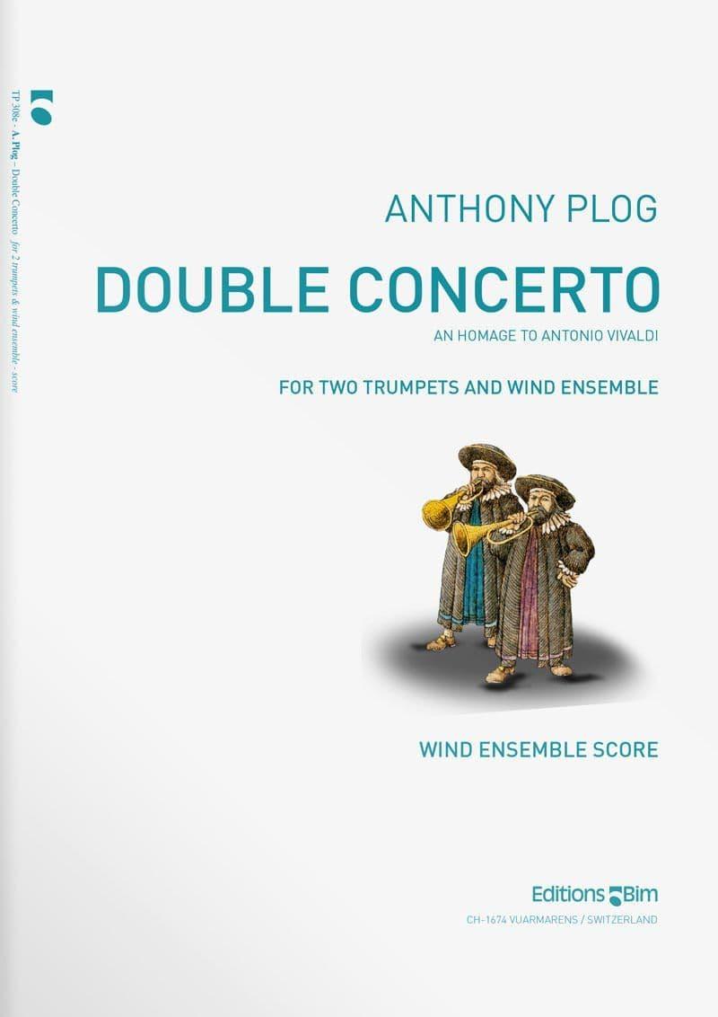 Plog Anthony Double Concerto 2 Trumpets Tp308E