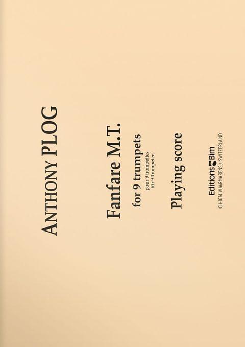 Plog Anthony Fanfare Mt Tp82