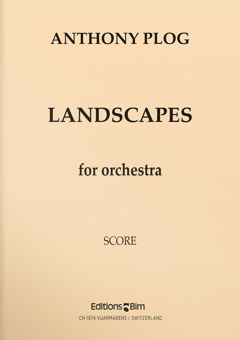 Plog Anthony Landscapes Orch9
