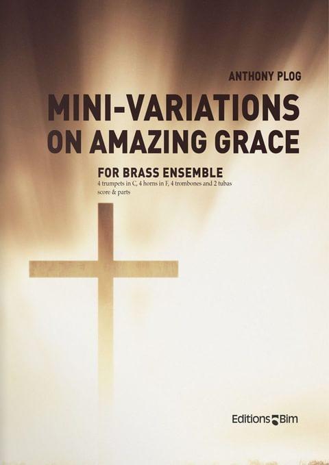 Plog Anthony Mini Variations Amazing Grace Ens50