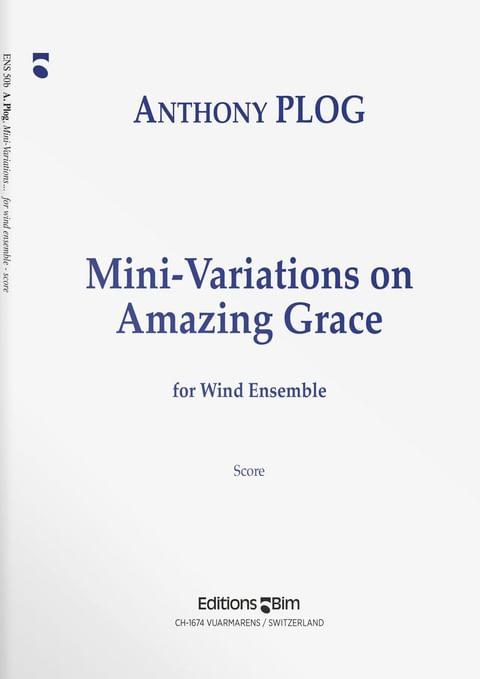 Plog Anthony Mini Variations Amazing Grace Ens50B