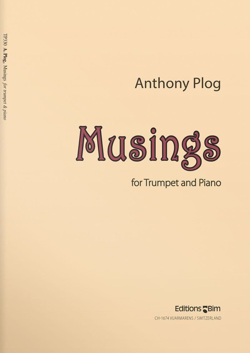 Plog Anthony Musings Tp330