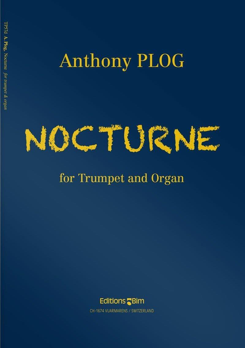 Plog Anthony Nocturne For Trumpet Tp57D
