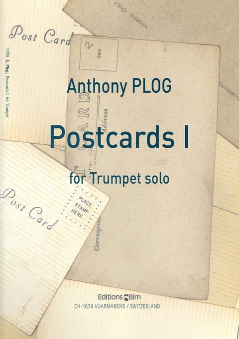 Plog Anthony Postcards I For Trumpet Tp58