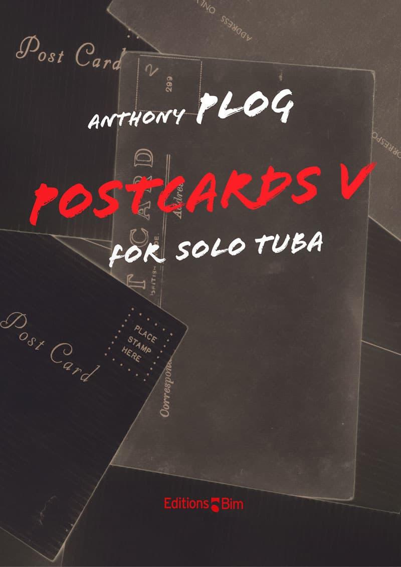 Plog Anthony Postcards V For Tuba Tu210