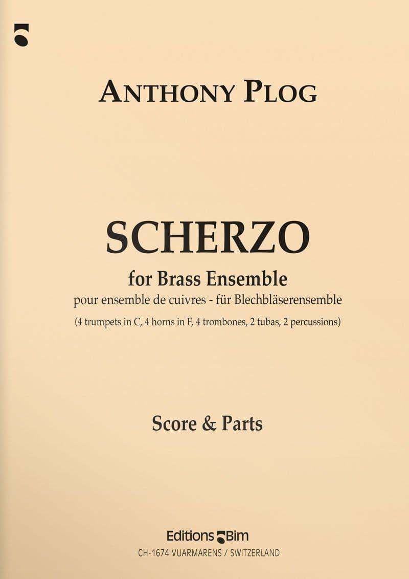 Plog Anthony Scherzo Brass Ensemble Ens66