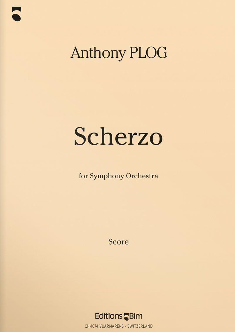 Plog Anthony Scherzo Orch57